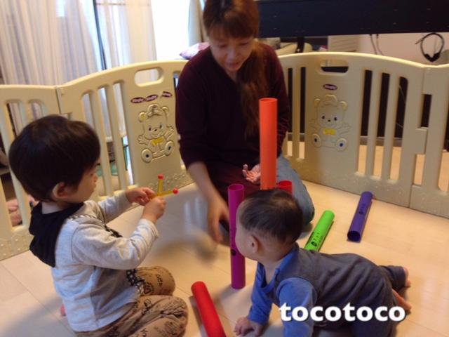 【新座市・教室】一人ひとりに合わせた託児付きリトミック