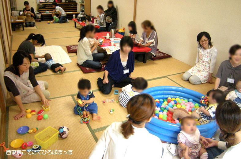【西東京市東伏見・イベント】子育て応援 気軽に来れる安心の場所『ぽっぽひろば』