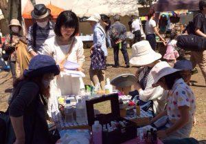 【練馬区石神井・教室】『母の日』カーネーションキャンドルとサシェのワークショップ