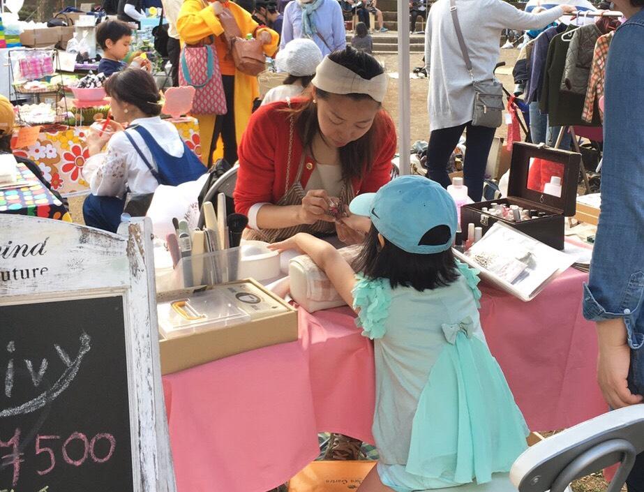 【西東京市東伏見・イベント】親子で楽しむネイルケア&カラーリング体験 in 夏だ!!おやこdeクラフトマルシェ