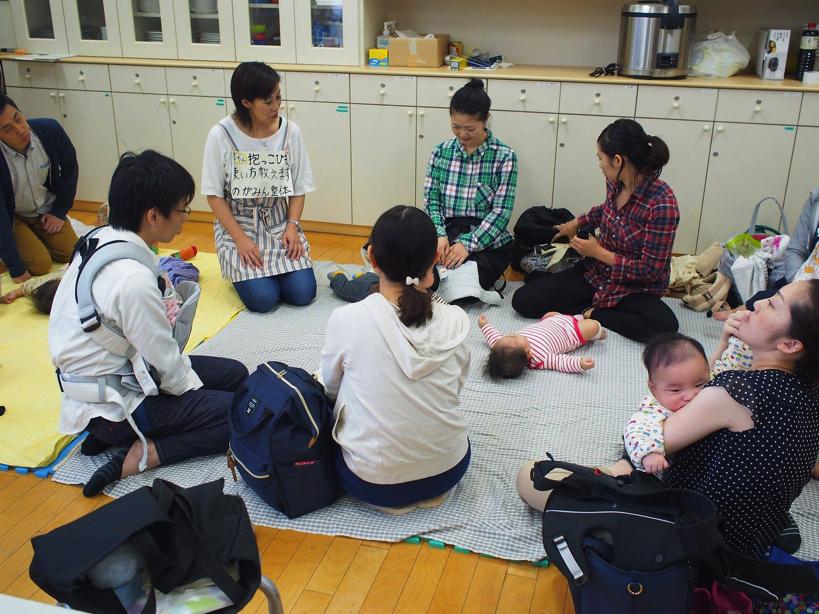 【西東京市ひばりヶ丘・講座】抱っこひもの楽チン使い方講座
