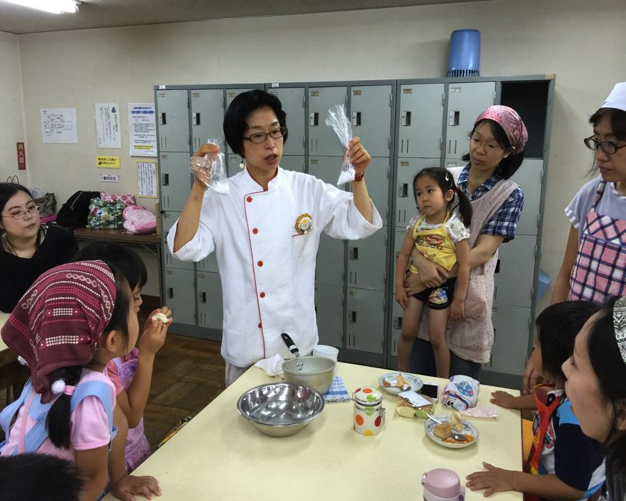 【西東京市田無・講座】こねない米粉パン作り講座(託児付き)