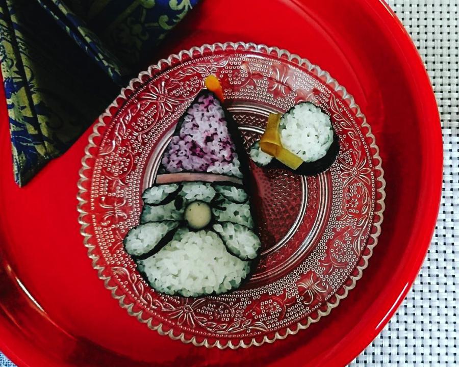 【練馬区東伏見・講座】クリスマス巻き寿司1Dayレッスン♪