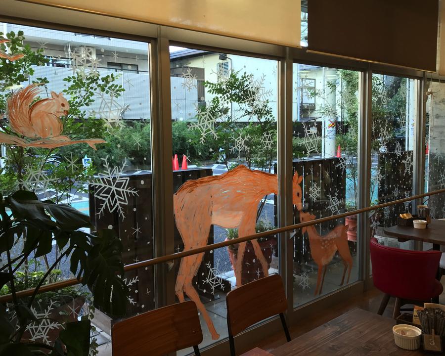 【西東京市田無・講座】窓にハートを描こう♥ウィンドウアートワークショップ