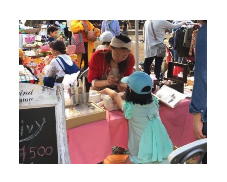 【西東京市東伏見・イベント】親子でネイルを楽しもう♪ 第3回結まーるビューティ&クラフトマルシェ