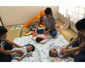 【西東京市田無・講座】親子で笑顔になれるベビーマッサージ