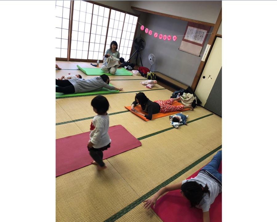 【西東京市田無・教室】託児付きで子連れ参加OKのピラティス体験